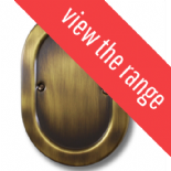 Oval Plate Antique Bronze Dimmer Switches